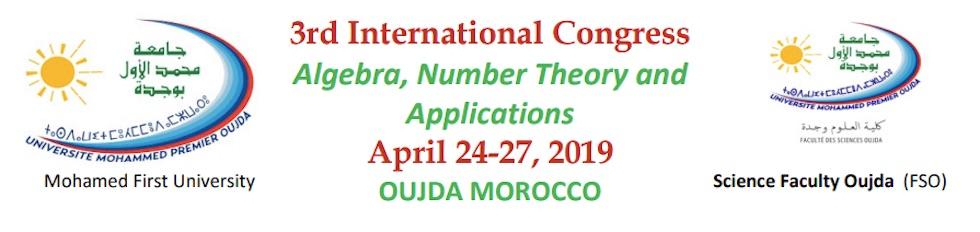 3ème Congrès International Algèbre, Théorie des Nombres et